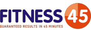 Fitness in 45 minutes logo